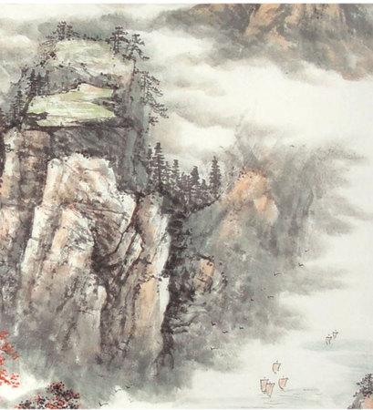 中堂客厅挂画